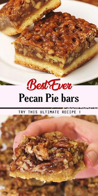 Best Ever Pecan Pie Bars