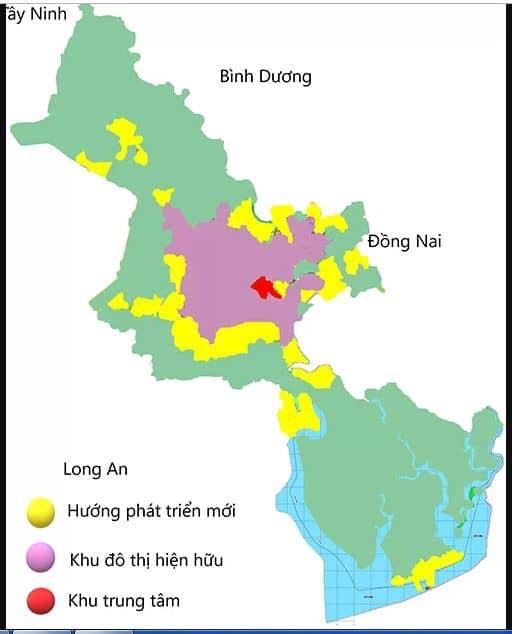 Đề xuất điều chỉnh quy hoạch chung tp. HCM thành đô thị đa trung tâm