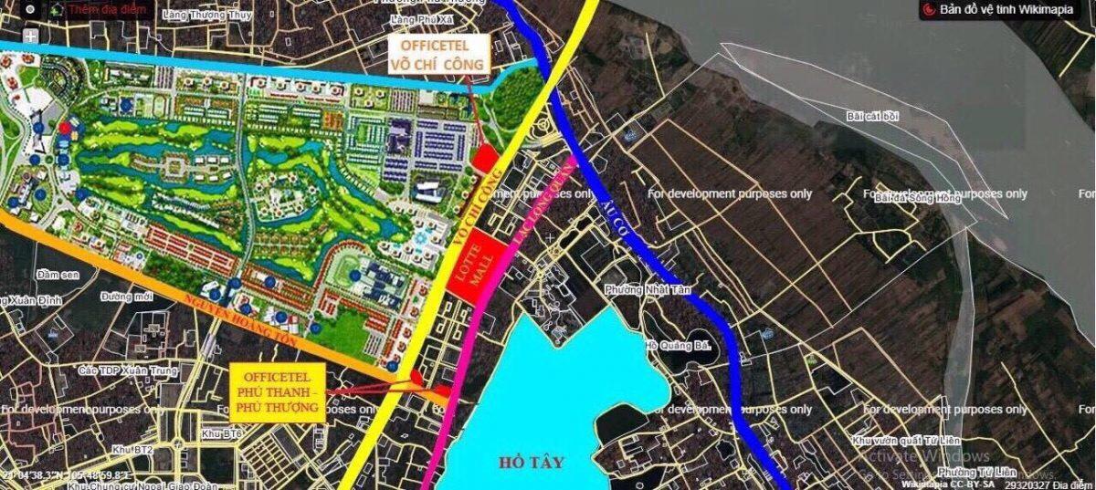Quy hoạch khu vực dự án và lân cận