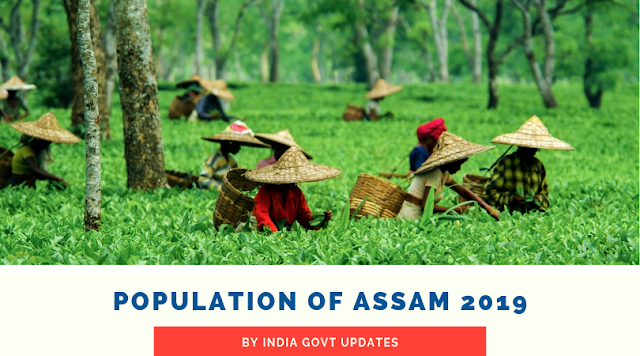 Population of Assam 2019