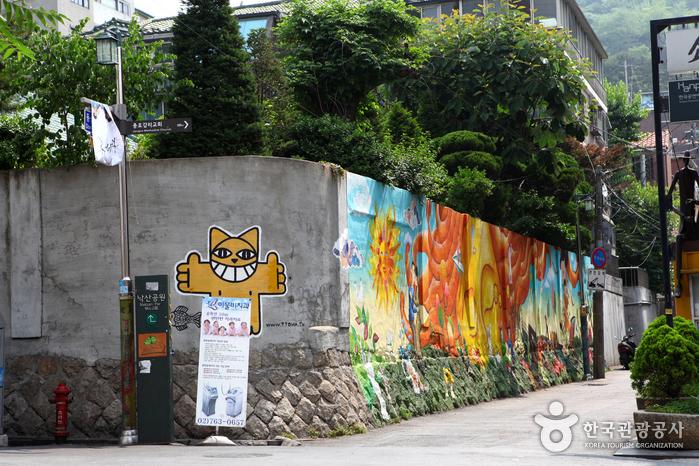 Wowkorea supporters enjoy art life best mural villages for Mural village