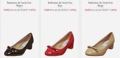 Bailarinas por 14 euros