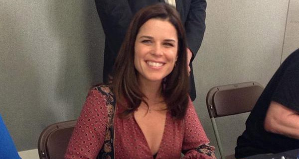 Neve Campbell en la London Film & Comic Con 2015