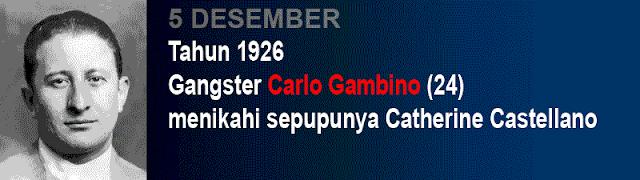 Hari pernikahan Carlo Gambino