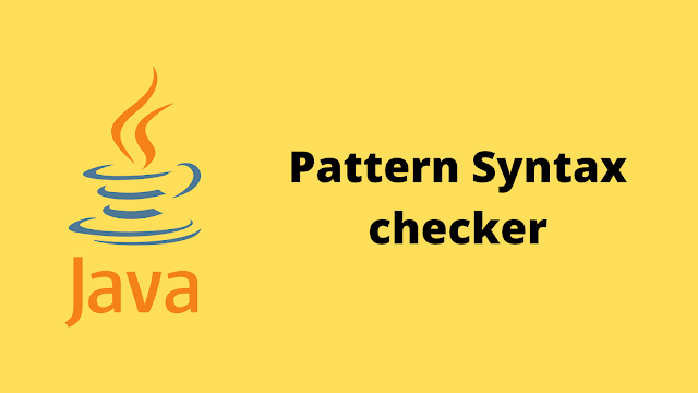 HackerRank Pattern Syntax Checker solution in java
