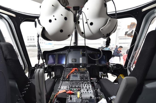 Avicopter AC352 Cockpit