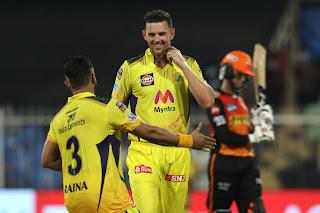 SRH vs CSK 44th Match IPL 2021 Highlights