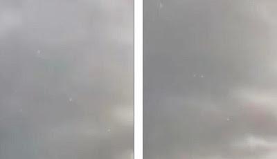 Sekelompok UFO Terlihat di Langit Bikin Heboh