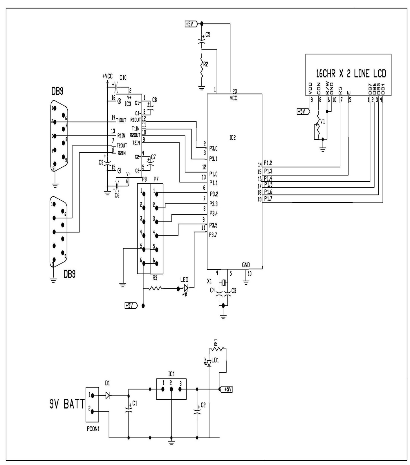Gsm Gps Based Women Security System Using Microcontroller Best Ups Circuit Diagram