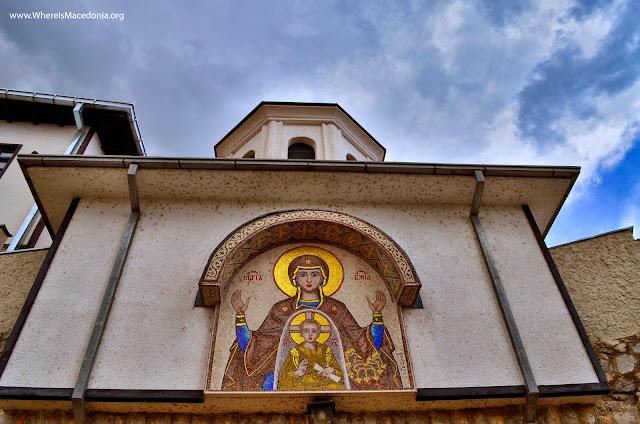 Kalishta Monastery near Struga, Macedonia