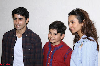 TV Actor Gautam Rode with Lra Dubey at Play of Child Artist Krish Dewan To Support Him