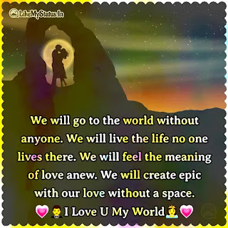 Love Proposal english quote