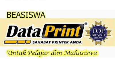 kabar gembiara buat kita para pecinta Produk  Kabar Gembira! Data Print Menyiapkan 400 Beasiswa untuk Anak Indonesia