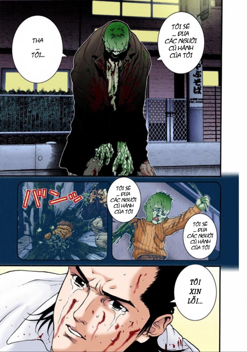 Gantz Chap 17: Phát bắn trang 9