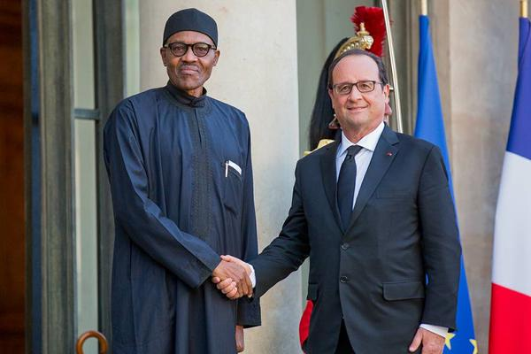 buhari paris france