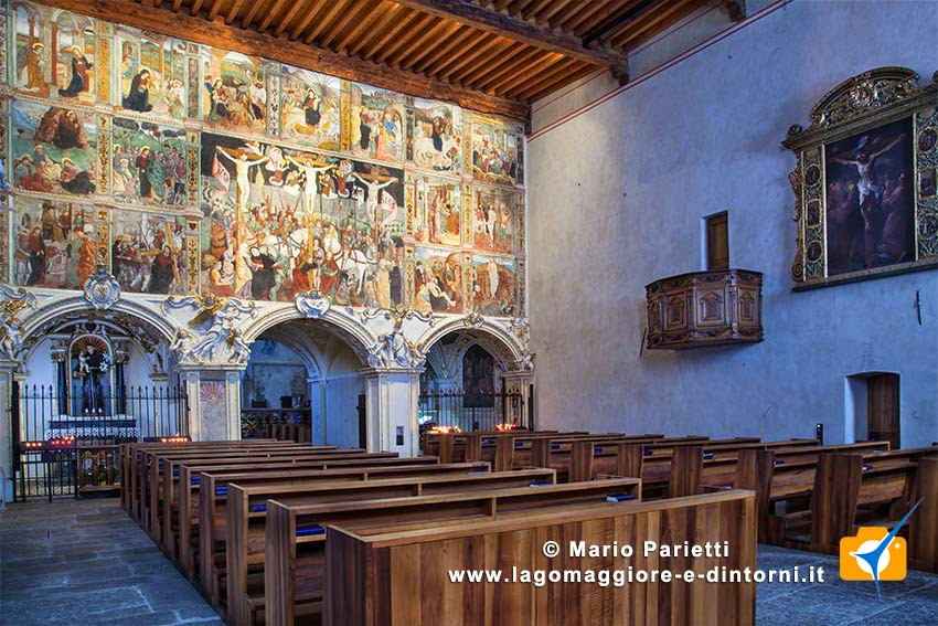 Chiesa santa Maria delle Grazie Bellinzona: interno