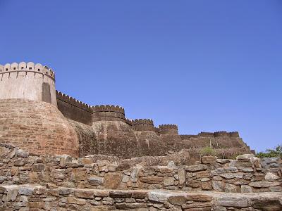 Gran Muralla Kumbhalgarh Muros
