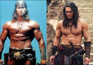 Film Conan: Arnold Schwarzenegger vs Jason Mamoa
