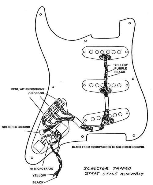 eddie van halen pickup wiring diagram