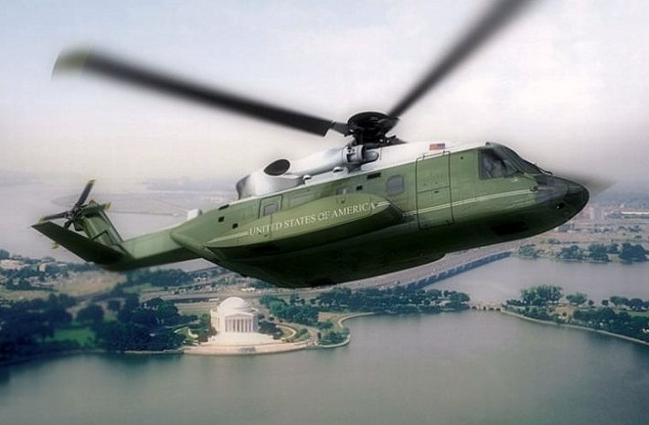4th of July 4 Trump to showcase a new experimental helicopter marine
