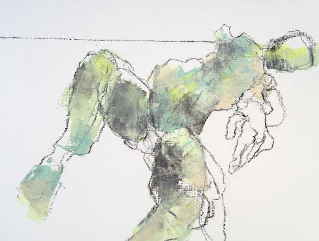 hand reaching, abstract figure, gallery juana