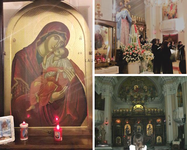 Particolari della Chiesa Maria Assunta a Civita