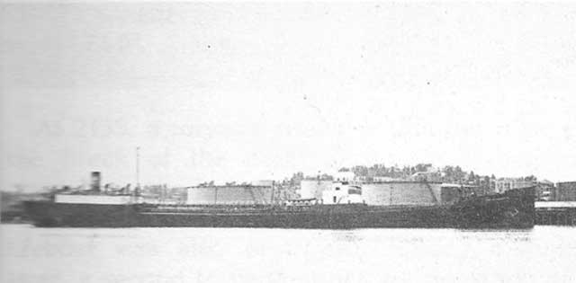 US tanker Pan Massachusetts, sunk on 19 February 1942 worldwartwo.filminspector.com