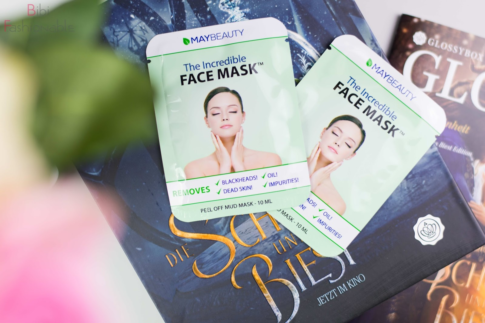 Unboxing Glossybox die Schöne und das Biest MayBeauty The Incredible Face Mask