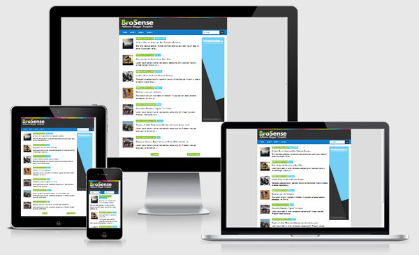 Download Brosense V2 Responsive Blogger Template