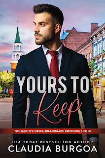 Yours to Keep by Claudia Burgoa Book cover Kindle Crack