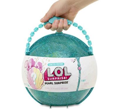 Как выглядит оригинальный шар L.O.L. Pearl Surprise