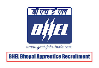 BHEL Bhopal Apprentice Recruitment 2020