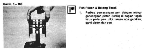 Pemeriksaan Piston Pin