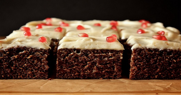 Orange Gingerbread With Cream Cheese Frosting Recipe