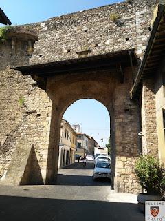 Porta Santa Trinita - uscita