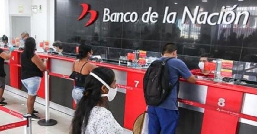 BN: Banco de la Nación abrirá hasta 4 millones de cuentas DNI para facilitar entrega de Bono Yanapay Perú