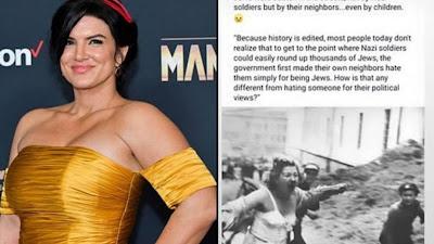 Atriz Gina Carano é demitida por não negar sua fé