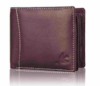 Themes brown leather wallet for men