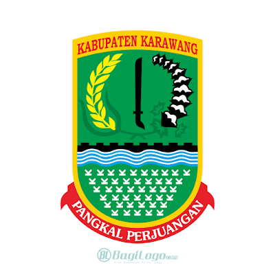 Kabupaten Karawang Logo Vector