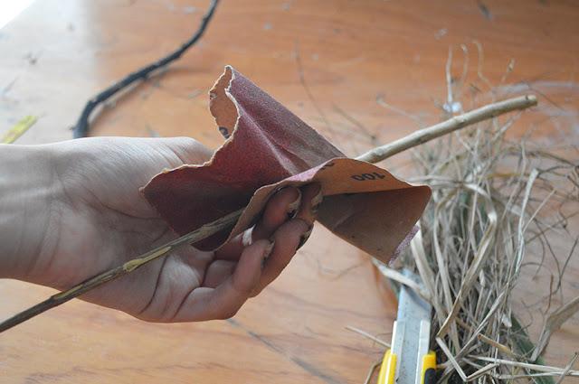 DIY Witch Broom - Vassoura de Bruxa