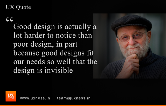 UX Quote - Don Norman