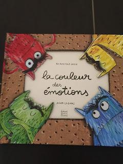 """Livre """"La couleur des émotions"""" de Anna Llenas"""