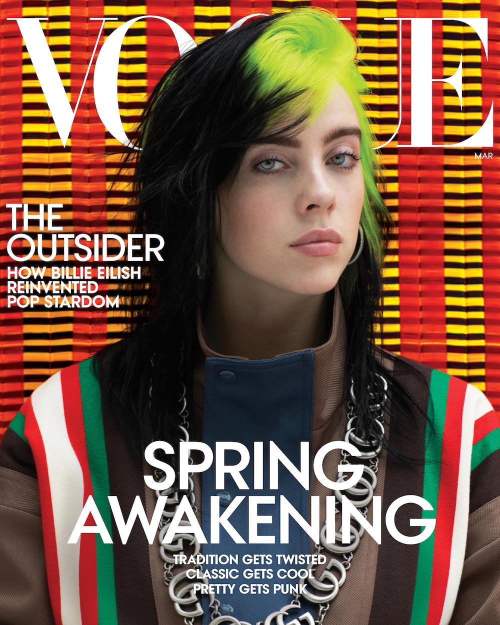 Billie Eilish stuns for Vogue Magazine March 2020