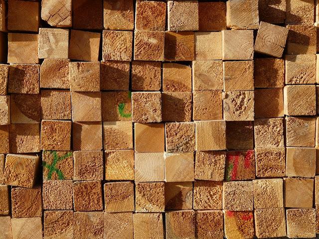 travi legno di castagno