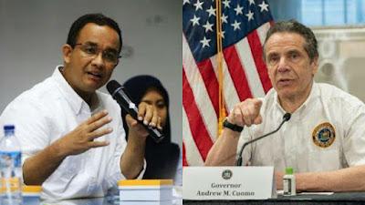 Kehebatan Anies Hadapi Corona Selevel Gubernur New York