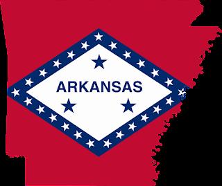 Arkansasa Map