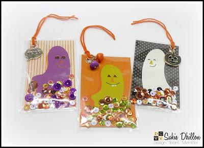 Halloween-themed Shaker Tags!