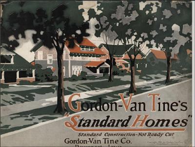 Gordon-Van Tine 1916 catalog standard homes