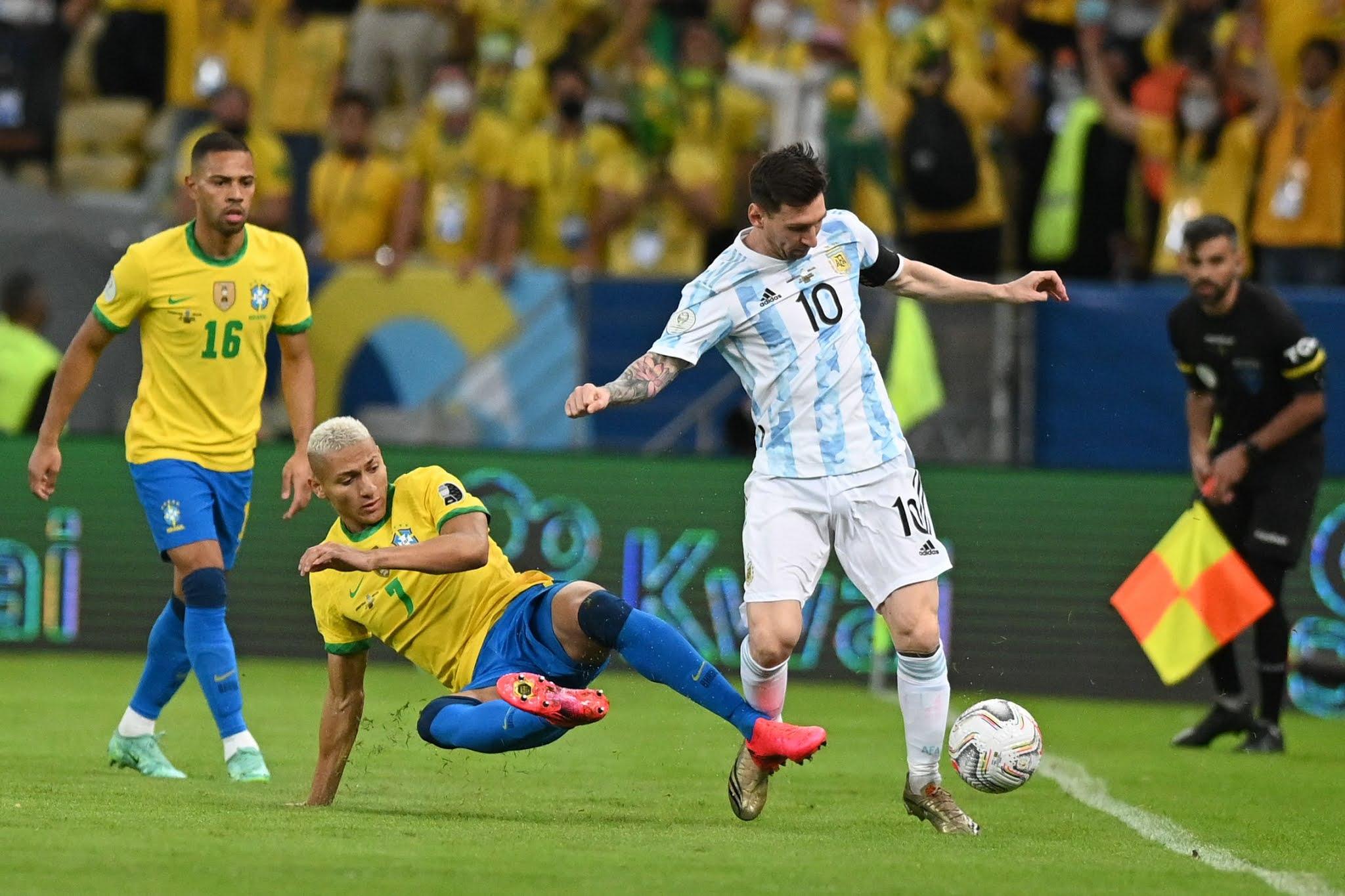 GALERIA DE FOTOS: Las mejores imágenes de Argentina campeón de la Copa América 2021