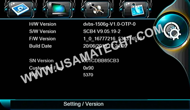 1506G NEW SOFTWARE - 1506G SIM RECEIVER POWERVU SOFTWARE UPDATE
